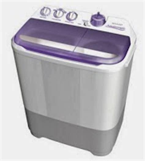 Mesin Cuci Sharp Es T85cl V daftar harga mesin cuci sharp 2 tabung 1 jutaan november