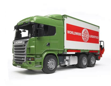 bruder trucks bruder scania r series cargo truck