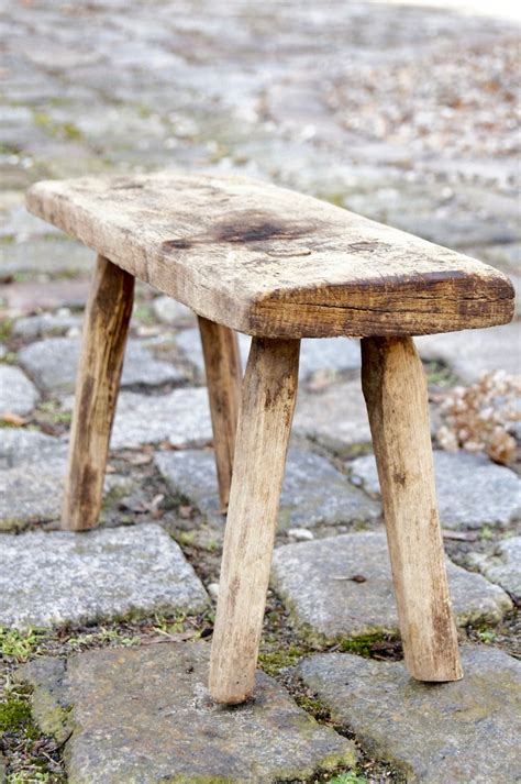 alter holzschemel alter holzschemel wooden stool antique http boheme