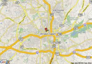 map of embassy suites hotel winston salem nc winston salem