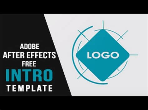 free after effects intro template free 2d intro template for after effects