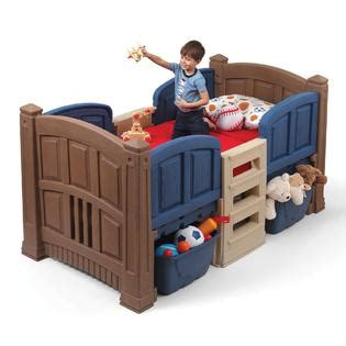 step 2 twin bed step 2 boy s loft storage twin bed baby toddler