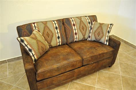 Antique Sleeper Sofa Antique And Vintage Brown Leather Size Sleeper Sofa With Storage And Pillow With Fabric