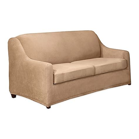 Sure Fit 3 Sofa Slipcover by Sure Fit 174 Stretch Pearson 3 Sofa Slipcover Bed