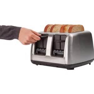 Farberware 4 Slice Toaster Farberware 4 Slice Toaster Stainless Steel Walmart Com