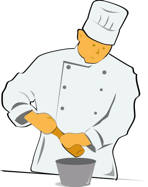chef clipart chef clip at clker vector clip