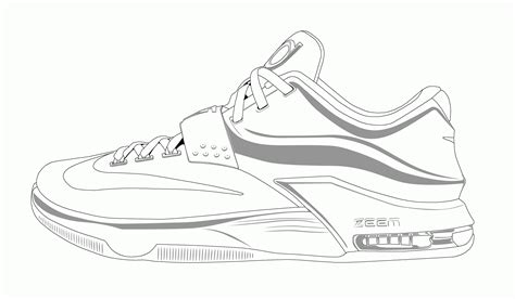 coloring pictures of basketball shoes shoes coloring pages print coloring home