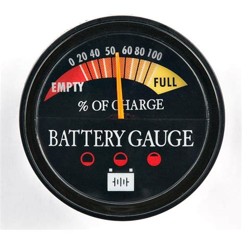 marine battery charge gauge panther permanent battery energy gauge 44022