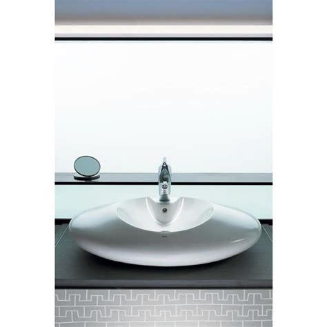 roca bathroom sinks roca veranda sit on countertop basin a327447000 uk bathrooms