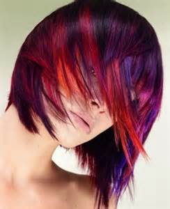 cool colored hair cool hair color ideas