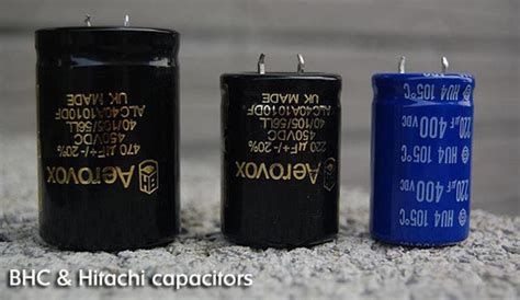 how capacitors work as filters 6moons audio reviews blue audioart tl66