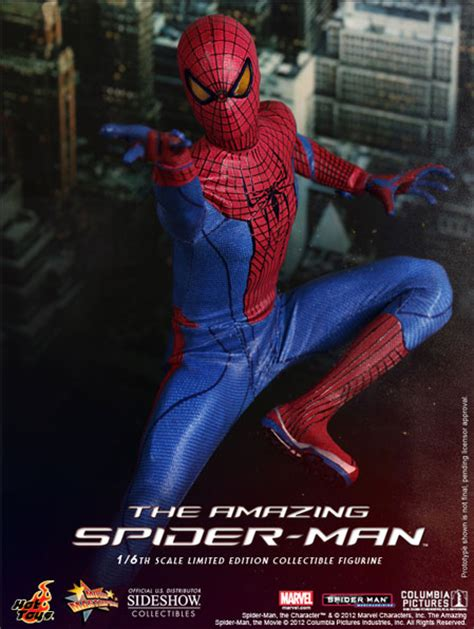 Stelan Spider the amazing spider la nuova figure ufficiale marvel il cinemaniaco