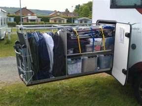 Motorhome Garage Storage Ideas Ultimate Storage For Rv Second Set Of Clothes Outside