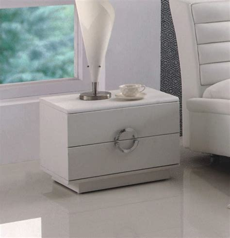 White Bedroom Nightstands by White Luxury Modern Nightstands In The Modern Bedroom Design