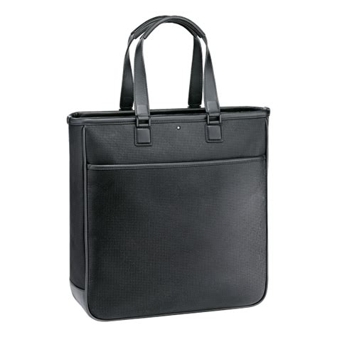 Bag Mont Blanc 2 Zipper cheap montblanc outlet tote bag locations