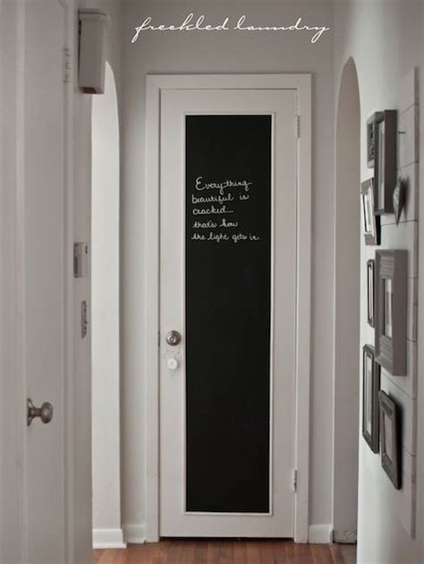 Bedroom Door Ideas by Chalkboard On The Outside Of The Pantry Door Also Would