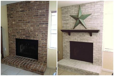 Redoing A Brick Fireplace by 25 Best Ideas About Brick Fireplace Redo On