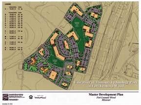 c wood map of missouri technology park at fort leonard wood