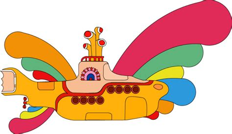 Beatles Yellow Submarine Lava L by The Phytophactor A Tiny Bit Less Colorful