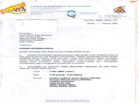 penulisan surat rasmi