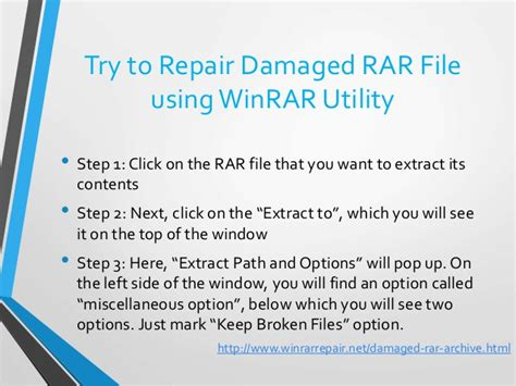 repair and extract corrupted rar file repair winrar files winrar repair software tool to repair damaged rar
