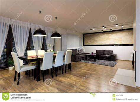 urban appartments urban apartment dining room stock photo image 35897176