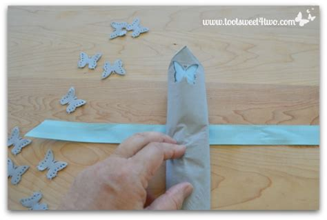 Folding Paper Napkins With Ribbon - how to make paper napkins special toot sweet 4 two