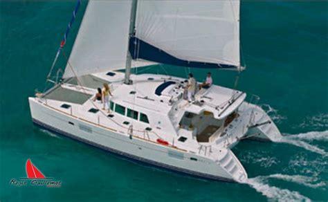 catamaran hire caribbean lagoon 440 for hire r 233 gis guillemot charter catamaran