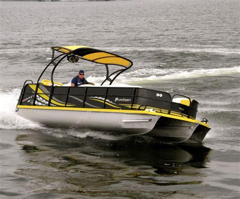 playcraft pontoon boats playcraft powertoon xtreme 2700 pontoon deck boat magazine