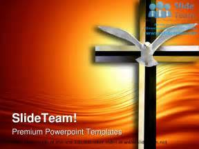 Photoshop Animation Templates by Holy Spirit Cross Religion Powerpoint Templates Themes And