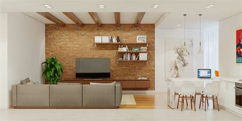 brick accent wall 3 stunning homes with exposed brick accent walls