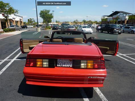 1992 camaro rs convertible camaro rs convertible 1992