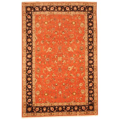 Knotted Rugs by Knotted Tabriz 6 7 X 9 11 Herat Rugs