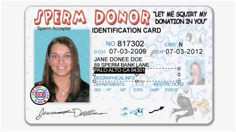 Ohio Id Card Photoshop Template by Id Templates