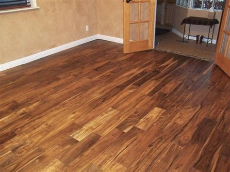 Tobacco Road Acacia Flooring by Featured Floor Tobacco Road Acacia Handscraped