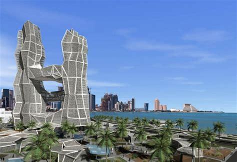 ultra design center qatar admire the futuristic architecture of doha qatar fresh