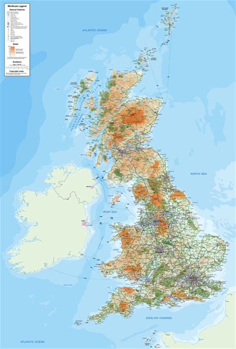 custom printed ordnance survey map posters