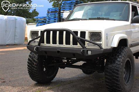 jeep xj bumper jcr offroad defender prerunner front bumper for jeep