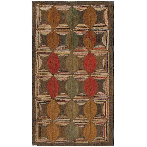 american furniture rugs american hooked rug for sale at 1stdibs