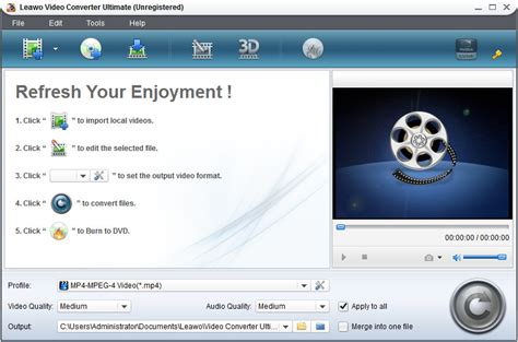 converter image leawo video converter ultimate total sulution for blu