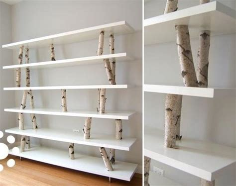 trash to treasure shelving units and storage ideas