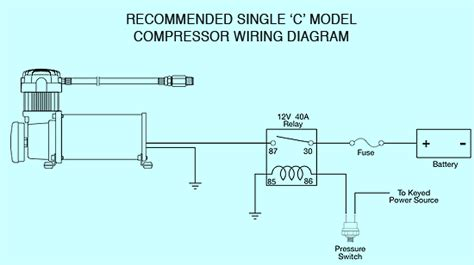 viair 12 volt air compressor wiring diagram 12 volt air