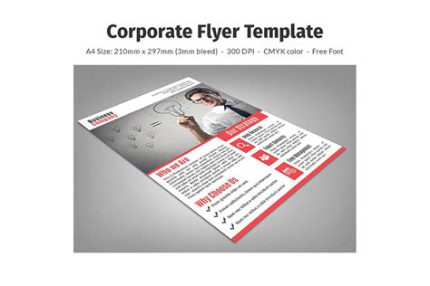 corporate flyer templates free corporate flyer template creative tacos