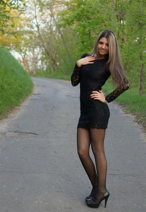 beautiful asian with legs in seamed tights nylons high heels dress pretty