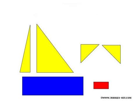 boat shapes craft shapes activity sheets boat