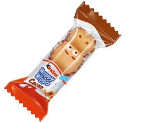 Kinder Happy Hippo Cocoa T5x20 7g kinder happy hippo biscuit 20 7g approved food