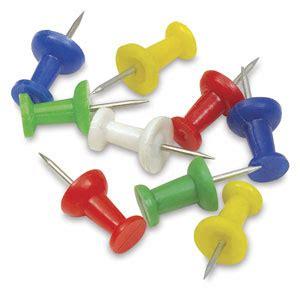 Push On Senter 2pin push pins blick materials