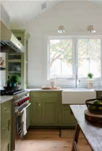 Green Kitchen Cabinets by Green Kitchen Cabinets Centsational