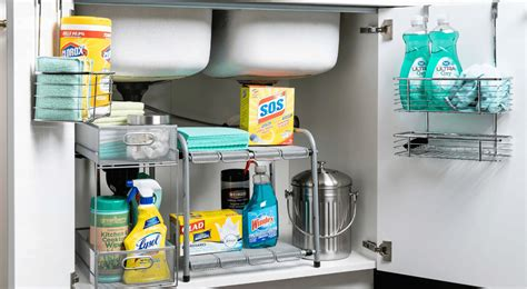 Kitchen Sink Store by How To Safely Store Your Cleaning Products Kitchen Stuff