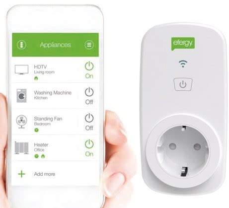 telitec smart home mobile internet and uk tv in spain save energy with the efergy smart plug mobile internet